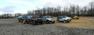 rausch creek staging area core group