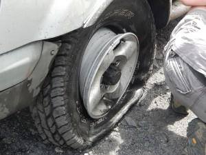 Tire Damage Rausch Creek 27AUG2016 (3)