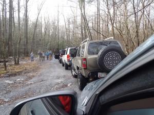 after Steep Creek water crossing